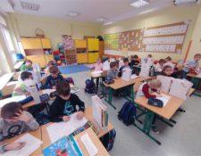 w sali klas młodszych
