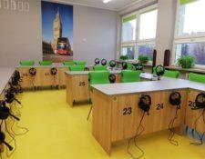 sala językowa w Dużej szkole